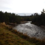 Geography trip-view up the Allt Bhan